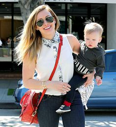 Hilary Duff used her expertise as a new mom to help judge PR 10 Episode 11 'It's Fashion Baby' for which designers made clothes for toddler clients!