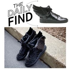 """""""The Daily Find: Jeremy Scott x Adidas Originals"""" by polyvore-editorial ❤ liked on Polyvore"""