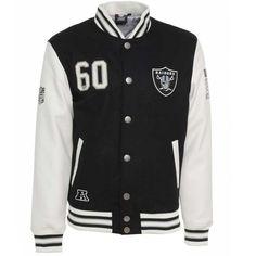 Majestic NFL Oakland Raiders Varsity Jacket £109.99
