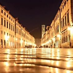 Dubrovnik at night!