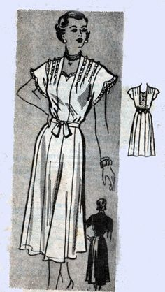 1950s Mail order pattern Marian Marin 9131 Day by sandritocat