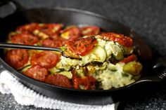 zucchini rice gratin by smitten, via Flickr