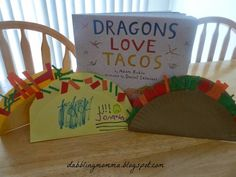 Dabblingmomma: Dragons Love Tacos Book and Craft