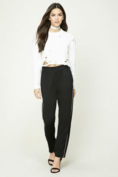 Zippered Ankle Sweatpants | Forever 21
