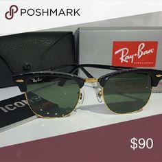 59121f88e01 Brand New Rayban Clubmaster Glasses