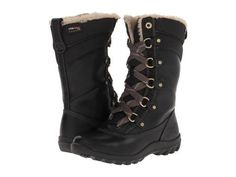 70cf97871d171 Timberland Mount Hope Mid Women s Lace-up Boots Black Forty Leather