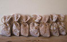 Rustic wedding 50 pc favor bags by myRusticDream on Etsy, $92.00