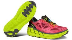 Fat-soled shoes are the new barefoot runners: Can they protect aging joints? (Photo: Hoka One One)