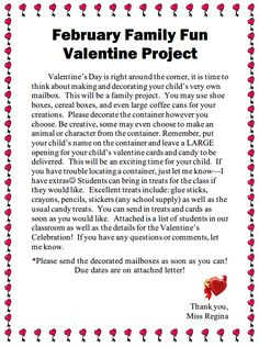 valentine's day letters to parents
