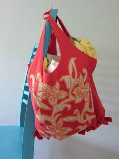 3 upcycled tshirt crafts- DIY tote bag #reuse #upcycle