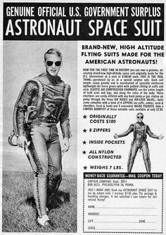 Genuine Official U.S. Government Surplus Astronaut Space Suit
