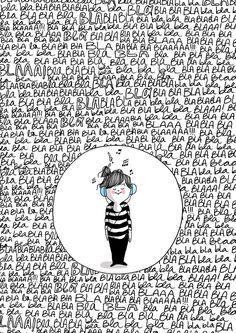 Esta imagen me fascina !... muy yo!  by Diario de una Volátil