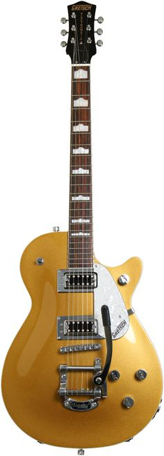 Gretsch G5438T Pro Jet with Bigsby - Gold | Sweetwater.com