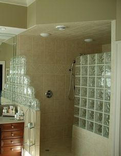 Man Sized Shower - Traditional - by ALL IN BUILDERS