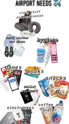 Travel Packing Checklist, Packing List For Vacation, Packing Tips, Suitcase Packing, Vacation Travel, Travel Bag Essentials, Road Trip Essentials, Road Trip Hacks, Airplane Essentials