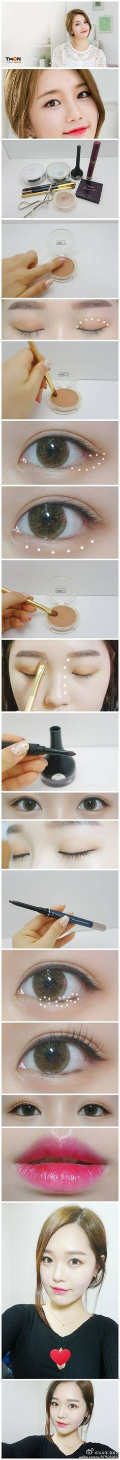 Simple Suzy makeup ~ #kbeauty