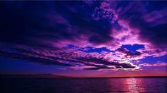 Sunrise Wallpaper, Hd Wallpaper Desktop, Wallpaper Iphone Disney, Wallpaper Online, Wallpapers, Purple Sunset, Ocean Sunset, Sun And Clouds, Original Wallpaper