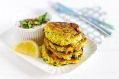 These easy corn fritters are great for hiding veggies from the kids. Super tasty and easy to make, what is not to love! Zucchini Patties, Veggie Patties, Zucchini Fritters, Fried Zucchini, Paleo Recipes, Cooking Recipes, Savoury Recipes, Weekly Recipes, Yummy Recipes