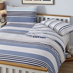 Tu Blue Cut And Sew Panel Bed Linen Set My Home Wish List Pinterest Sets Garden Bedroom