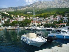 Brela marina Croatia Croatia, Explore, Exploring