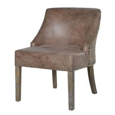 Wall Stickers Chatsworth Fabric Dining Chair With Oak Legs