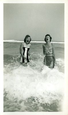 Beach life back in the days