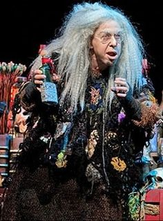 "Jackie Hoffman as Grandma in ""The Addams Family"""