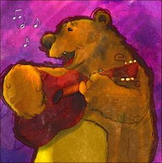 Does a bear sing in the woods?