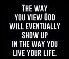 Viewing God shows up !!