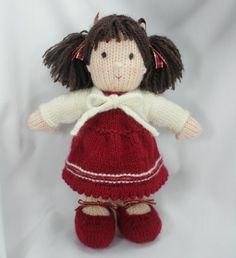 Miranda — hand knitted doll