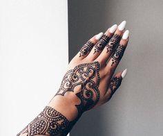 Image result for henna nails