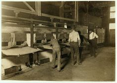 Mannington Glass Works. Uses no small boys (below 15): These are average: manager said they do not believe in working boys that ought to be in school. Say it pays to use large boys, as they pay them same as small ones--$1 a day: employ 60 men and 30 boys 15 to 18 years: no young girls.  Location: Mannington, West Virginia. Virginia Hill, Marion County, Small Boy, Heaven, Bucket, God, History, School, Glass