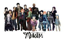 Magik-all cast by Krystel-art on DeviantArt