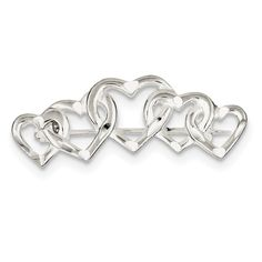 Florian Charm w//Lobster Clasp JewelsObsession Sterling Silver 26mm St
