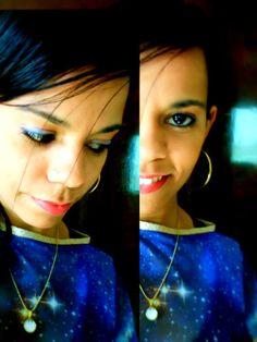 blusa galaxy : achei na loja Riachuelo por acaso mexendo na parte do vestido galaxy.......... olha so o que achei ♥ | carpediemkelly