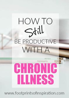 Some days are extremely difficult when you are living with a chronic illness. Check out these great tips on how to still be productive while living with a chronic illness. Chronic Illness Humor, Chronic Pain, Fibromyalgia, Endometriosis, Rheumatoid Arthritis, Migraine, Complex Regional Pain Syndrome, Crps, Chronic Fatigue Syndrome