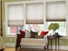 Create Calm With Cellular Shades - Enhance a Room's Design Style With Window Treatments on HGTV