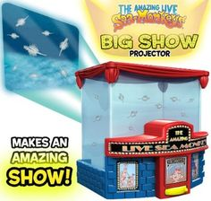 Avner-Toys Big Show Sea Monkeys Projector Pet Shrimp, Sea Monkeys, Star Magic, Big Show, Old Signs, Educational Games, Big Time, Dear Santa, Marine Life