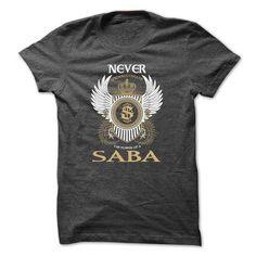 Awesome Tee SABA Never Shirts & Tees