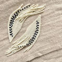 xtra biggies! . . . #beadedearrings #beadedjewelry #makersgonnamake #makersmovement #handmadejewelry #artjewelr