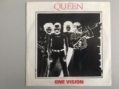"Queen - One vision - 7"" - HOLLAND - Sleeve in great condition"