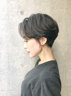 Pin on ヘアカラー (Hair color) Pin on ヘアカラー (Hair color) Tomboy Haircut, Tomboy Hairstyles, Hairstyles Haircuts, Girl Short Hair, Short Hair Cuts, Korean Short Hair, Shot Hair Styles, Girls Short Haircuts, Aesthetic Hair