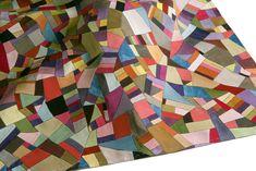 "Eun Ji Lee, ""Harmony"" #pojagi, silk, natural dyeing, 25.6 x 21.7 inches"