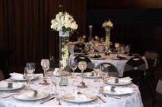 Silver Splendour Event Kit: $300.00. Set your event apart with an enchanting tabletop look!