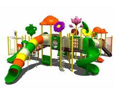 Plastic Garden Slide For Kids