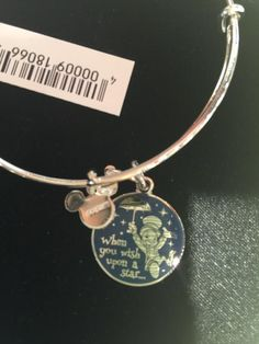 "Alex and Ani  Jiminy Cricket ""When You Wish Upon A Star"" Bangle Available Today!"