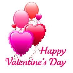 Valentine's Day Cloud Heart with Arrow Transparent PNG Clip Art ...