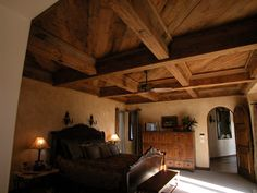 <3 this!   Flat Ceiling Beams and Decking