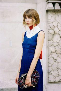 Vanessa Jackman: Paris Fashion Week SS 2015....Veronika http://www.siempre-lindas.cl/