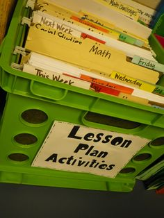 Classroom Organization I wonder if I would really stick with it